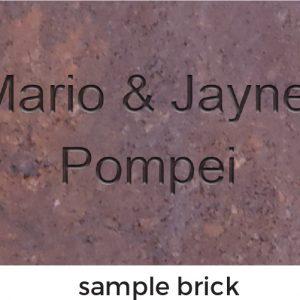 Sample Brick